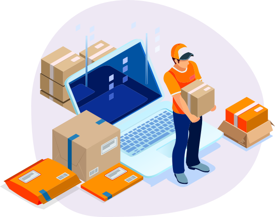 parcel, package, quick courier, help managing drivers